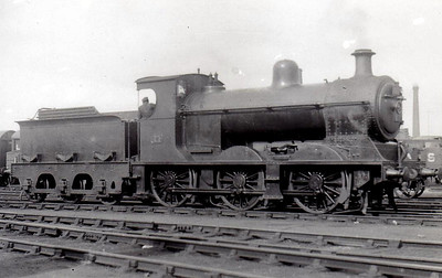 Class V - 14 - NCC Class V 0-6-0, built 1923 by Derby Works as NCC No.72 - 1923 to No.14 - 1949 to UTA - 1951 rebuilt with Belpaire boiler as Class V1 - withdrawn 1961.