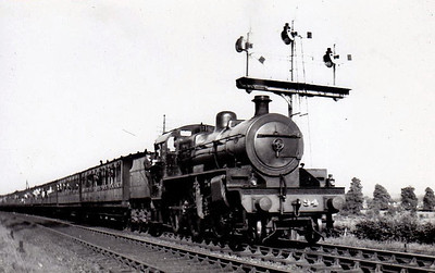 Class W - 94 THE MAINE - NCC Class W 'River' 2-6-0 - built 1935 by Derby Works - withdrawn 1965.