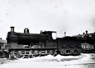 Class E1 - 54 - Class E 0-6-0, built 1892 by Beyer Peacock as Belfast & Northern Counties Railway No.54 - 1903 to MR (NCC), 1907 rebuilt to Class E1, 1923 to LMS (NCC) - withdrawn 1944.