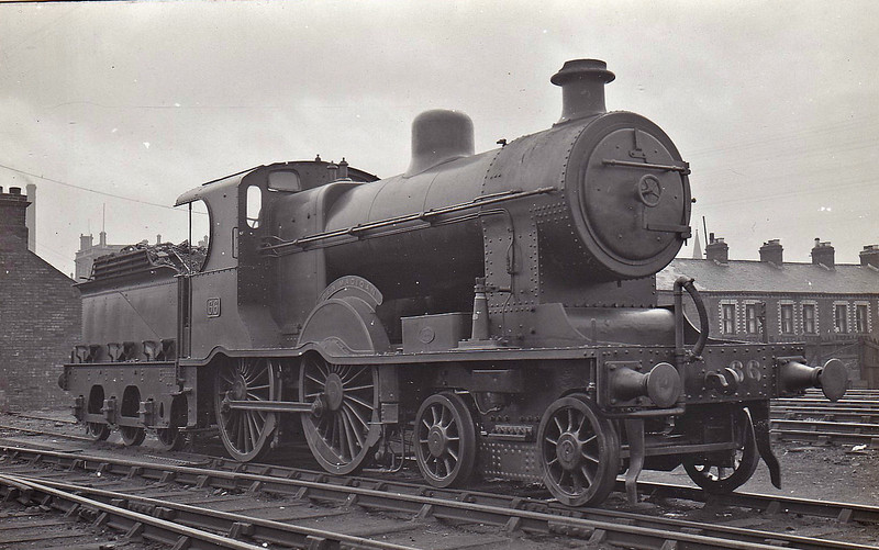 Class A1 - 66 BEN MADIGAN - MRNCC 4-4-0 - built 1905 by Derby Works as Class A - 1923 to LMSNCC - 1930 rebuilt to Class A1 with Belpaire superheated boiler, named BEN MADIGAN - 1949 to UTA - 1954 withdrawn.