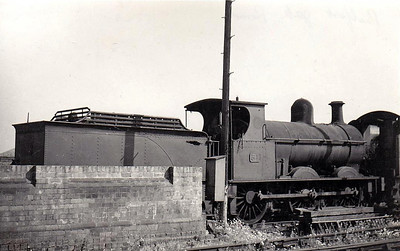 Class K1 - 31 - B&NCR Class K 0-6-0, built 1878 by Beyer Peacock - 1903 to MR(NCC), 1923 to LMS (NCC), 1927 rebuilt to Class K1 - withdrawn 1947 - seen here at Belfast York Road.