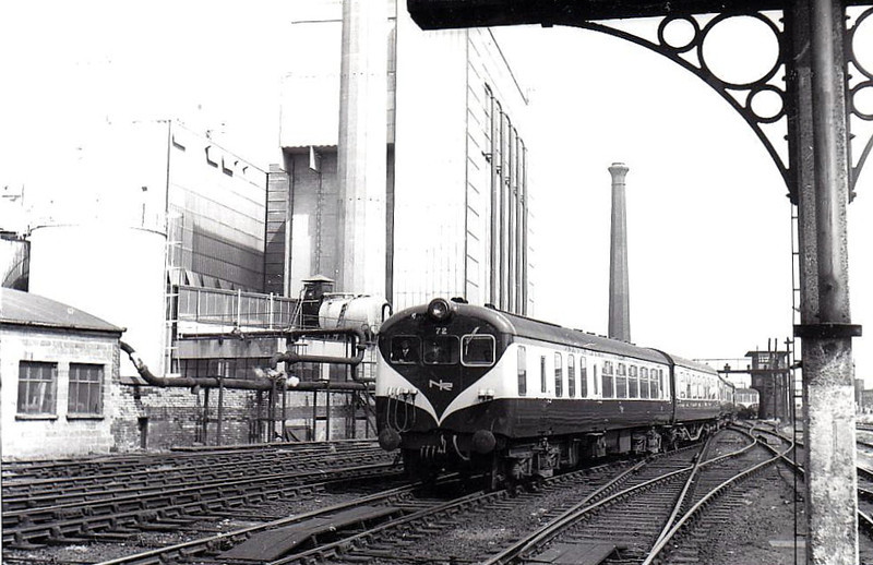 72 RIVER FOYLE - Class 70 railcar, built by UTA York Road Works in 1966 for Inter-City services - all withdrawn by 1986.