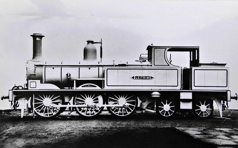 LEITRIM - 0-6-4T - built 1882 by Beyer Peacock & Co., Works No.2138 - 1947 withdrawn - builder's picture.