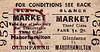SL&NCR TICKET - GLENFARNE - Third Class Market Day Return to Manorhamilton, fare 1s 2d.
