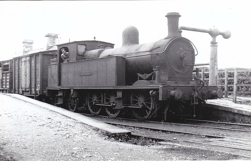 ENNISKILLEN - 'Sir Henry' Class 0-6-4T built 1905 by Beyer Peacock, Works No.4720 - withdrawn 1957.