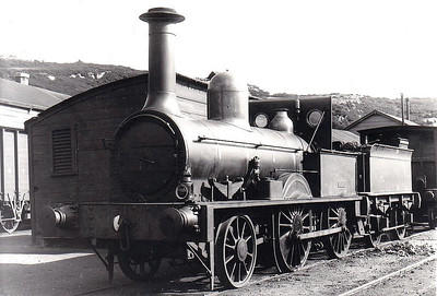 WATERFORD & CENTRAL IRELAND RAILWAY - 3 - 2-4-0, buiolt 1852 by Sharp Stewart as Waterford & Kilkenny Railway No.5, 1861 to Waterford & Limerick Railway No.24, 1867 to W&CIR No.3, 1900 to GS&WR and withdrawn with old number.