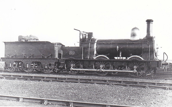BELFAST & NORTHERN COUNTIES RAILWAY - 35 - Class L 0-6-0, built 1861 by Sharp Stewart & Co. - 1902 rebuilt, 1903 to MR/NCC, 1923 to LMS/NCC - 1925 withdrawn.