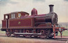 CORK & MACROOM DIRECT RAILWAY - 5 - 0-6-2T built by Andrew Barclay in 1904 - 1925 to GSR as No.490 - withdrawn 1935.