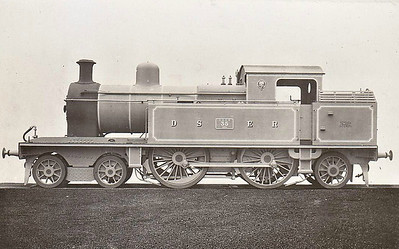 DUBLIN & SOUTH EASTERN RAILWAY - 35 - built in 1924 by Beyer Peacock - 1925 to GSR as No.457, 1936 rebuilt with round topped boiler, 1945 to CIE - withdrawn in 1959.