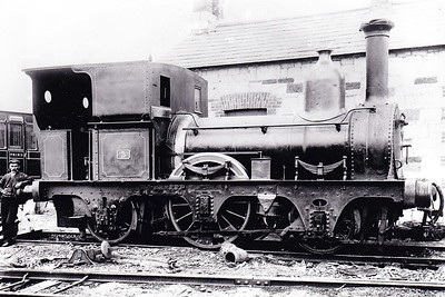 CORK, BLACKROCK & PASSAGE RAILWAY - No.2 - 2-2-2WT - built 1850 by Sharp Bros & Co., Works No.662 - 1880 rebuilt as 2-2-2ST - 1900 withdrawn.  The Cork, Blackrock & Passage Railway opened in 1850 as a broad gauge 11 mile long railway from Cork to Passage West. In October 1900, in an effort to improve profitablility, a 9.5 mile extension to Crosshaven was built and the line converted to 3 foot gauge. The broad gauge stock was scrapped and 4 new locos built. However, success was shortlived and the whole line closed in 1932. It was unique amongst Irish narrow gauge lines in having a double track section between Cork and Blackrock.