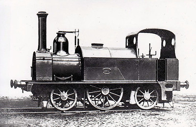 DUBLIN & DROGHEDA RAILWAY - 8 - 2-2-2ST, built 1862 by Neilson Reid & Co. - 1875 to Northern Railway, 1876 to Great Northern Railway - withdrawn 1887.