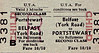 UTA TICKET - BELFAST (York Road) - Second Class Child Three Monthly Return to Portstewart - fare 10s 10d.