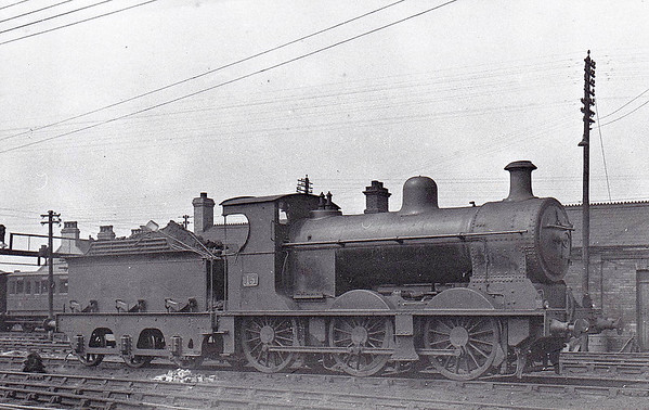 15 - NCC Class V 0-6-0, built 1923 by Derby Works as NCC No.73 - 1923 to NCC No.15 - 1949 to UTA - 1953 rebuilt as Class V1 with Belpaire boiler - withdrawn 1961 - seen here in June 1948.