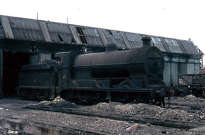 37 - GNR(I) Class SG3 0-6-0, built 1921 by Beyer Peacock as GNR(I) No.97 - 10/58 to UTA as No.37 - withdrawn 1967.