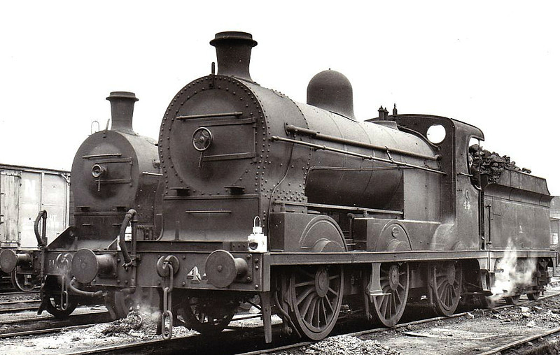 44 - GNR(I) Class SG 0-6-0, built 1913 by Beyer Peacock as GNR(I) No.138 - 1913 to GNR(I) No.176 - 1948 to UTA as No.44 - withdrawn 1965.