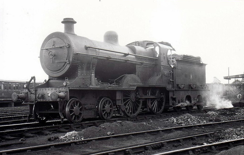 70 - Fowler Class U 4-4-0, built 1914 by Derby Works - 1924 to Class U2 with Belpaire boiler, 1949 to UTA - withdrawn 1956.
