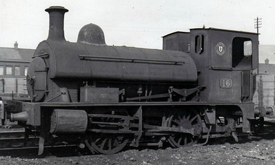 16 - NCC Class N 0-4-0ST - built 1914 by Northern Counties Committee - 1923 to LMS NCC, 1949 to UTA - withdrawn 1951.