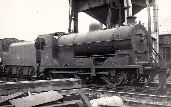 32x - Park GNRI Class AL 0-6-0 - built 1894 by Adelaide Works as GNRI No.32 DROGHEDA - 1958 to UTA as No.32x - 1960 withdrawn - seen here at York Road.