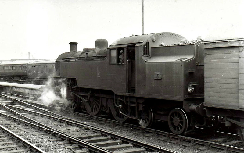 5 - Class WT 2-6-4T, built 1946 by Derby Works - 1948 to UTA - 1968 to NIR - withdrawn 1970.