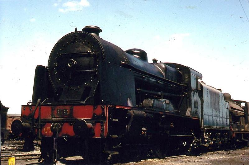 86x PEREGRINE - GNR(I) Class V 4-4-0 - built 1932 by Beyer Peacock as GNR(I) No.86 - 1958 to UTA as No.86x - withdrawn 1961.