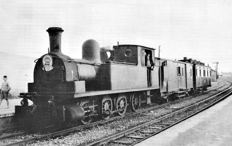 No.5c - 0-6-2T, built 1892 by Dubs & Co., Works No.2890, as WCR No.5 SLIEVE CALLAN - 1925 to GSR as No.5c, 1945 to CIE - withdrawn 1959 - nominally owned by South Clare Railway.