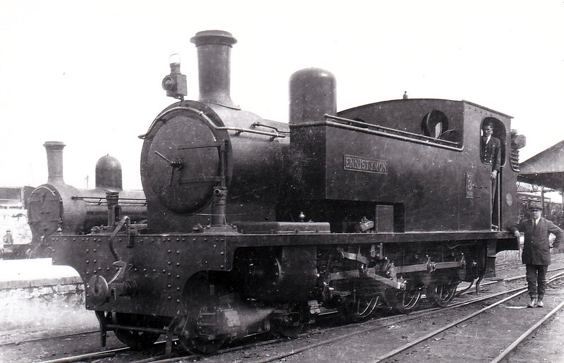 No.3 ENNISTYMON - 4-6-0T, built 1922 by Hunslet Engine Co., Works No.1432, as WCR No.3 - 1925 to GSR as No.3c, 1945 to CIE - withdrawn 1953.
