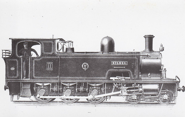 No.11 KILKEE - 4-6-0T - built 1908 by WG Bagnall & Co. - 1925 to GSR as 11C - 1945 to CIE - 1953 withdrawn.