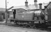 68346 - Reid NBR Class F LNER Class J88 0-6-0T - built 07/12 by Cowlairs Works as NBR No.132 - 08/25 to LNER No.9132, 01/46 to LNER No.8346, 09/48 to BR No.68346 - 10/62 withdrawn from 62C Dunfermline Upper, where seen.
