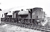 68030 - Riddles WD Austerity 0-6-0ST - built 05/45 by Hunslet Engine Co. as WD No.71452 - 07/46 to LNER No.8030, 11/48 to BR No.68030 - 04/62 withdrawn from 17D Rowsley - seen here with sister 68013 on the Cromford & High Peak.
