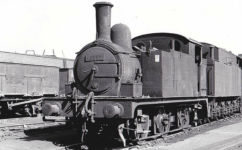 68552 - Holden GER/LNER Class J69 0-6-0T - built 06/1894 by Stratford Works as GER No.376 - 07/06 rebuilt from Class J67 - 1924 to LNER No.7376, 10/46 to LNER No.8552, 06/48 to BR No.68552 - 09/61 withdrawn from 30A Stratford.