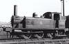 68345 - Reid NBR Class F LNER Class J88 0-6-0T - built 07/12 by Cowlairs Works as NBR No.130 - 09/25 to LNER No.9130, 01/46 to LNER No.8345, 07/51 to BR No.68345 - 12/62 withdrawn from 65E Kipps - seen here at Eastfield.