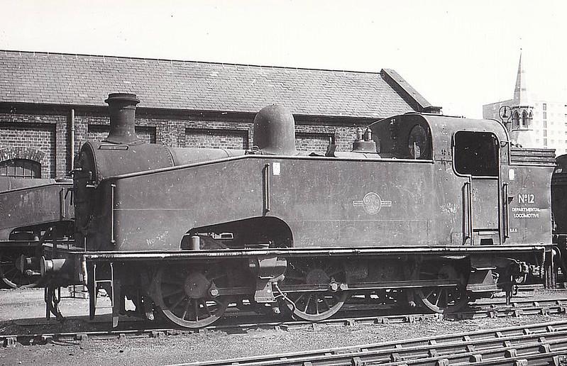 1959 - Modern Times at Hornsey..   GNR/LNER Gresley J50 0-6-…   Flickr