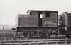 Departmental No.39 - Sentinel LNER Class Y1 0-4-0T - built 12/26 by Sentinel Wagon Works as LNER No.8401 - 06/46 to LNER No.7773, 05/51 to LNER No.8131, 08/53 to BR No.39 (Departmental) - allocated to Lowestoft Civil Engineers Dept. - 04/63 withdrawn - seen here at Stratford, 10/62.