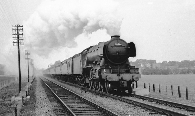60044 MELTON - Gresley LNER Class A3 4-6-2 - built 06/24 by Doncaster Works as LNER No.2543 - 09/46 to LNER No.44, 08/49 to BR No.60044 - 06/63 withdrawn from 34A Kings Cross.