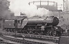 60505 THANE OF FIFE - Thompson LNER Class A2/2 rebuild of Gresley Class P2 2-8-2 - built 08/36 by Doncaster Works as LNER No.2005 - 01/43 rebuilt to Class A2/2, 05/46 to LNER No.505, 06/48 to BR No.60505 - 11/59 withdrawn from 34E New England - seen here at Kings Cross.