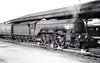 60050 PERSIMMON - Gresley LNER Class A3 4-6-2 - built 10/24 by Doncaster Works as LNER No.2549 - 07/46 to LNER No.50, 08/48 to BR No.60050 - 09/63 withdrawn from 34E New England - seen here at York in 1960.