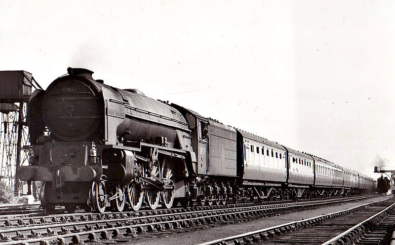 60127 WILSON WORSDELL - Peppercorn Class A1 4-6-2 - built 05/49 by Doncaster Works - 06/65 withdrawn from 52A Gateshead.