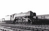 60092 FAIRWAY - Gresley LNER Class A3 4-6-2 - built 10/28 by Doncaster Works as LNER No.2746 - 10/46 to LNER No.92, 04/49 to BR No.60092 - 10/64 withdrawn from 52A Gateshead - seen here at Hull Dairycoates, 12/64.