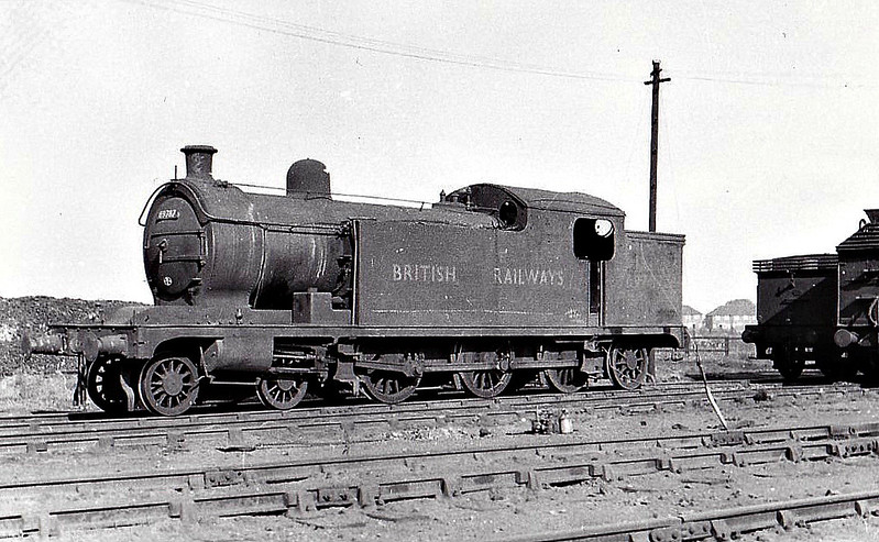69787 - Raven NER Class Y LNER Class A7 4-6-2T - built 05/11 by Darlington Works as NER No.1192 - 05/46 to LNER No.9787, 09/48 to BR No.69787 - 08/54 withdrawn from 53C Hull Springhead.
