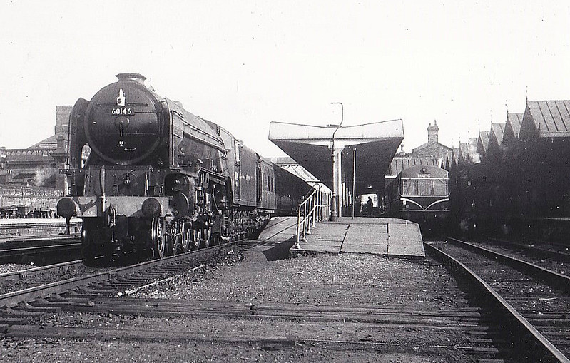 60146 PEREGRINE - Peppercorn BR Class A1 4-6-2 - built 04/49 .by Darlington Works - 10/65 withdrawn from 50A York.