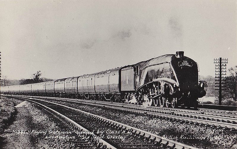 60007 SIR NIGEL GRESLEY - Gresley LNER Class A4 4-6-2 - built 10/37 by Doncaster Works as LNER No.4498 - 01/47 to LNER No.7, 03/48 to BR No.60007 - 02/66 withdrawn from 61B Aberdeen Ferryhill - preserved.