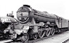 60101 CICERO - Gresley LNER Class A3 4-6-2 - built 06/30 by Doncaster Works as LNER No.2797 - 07/46 to LNER No.101, 08/48 to BR No.60101 - 04/63 withdrawn from 64A St Margarets - seen here at Haymarket, 08/62.