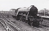 60111 ENTERPRISE - Gresley LNER Class A3 4-6-2 - built 08/23 by Doncaster Works as GNR No.1480 - 04/25 to LNER No.4480, 05/46 to LNER No.111, 10/49 to BR No.60111 - 12/62 withdrawn from 35B Grantham - seen here at Doncaster.