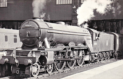 60064 TAGALIE - Gresley LNER Class A3 4-6-2 - built 07/24 by North British Loco Co. as LNER No.2563 WILLIAM WHITELAW - 08/41 name removed, renamed TAGALIE - 10/46 to LNER No.64, 07/49 to BR No.60064 - 09/61 withdrawn from 34F Grantham.