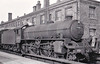 61096 - Thompson LNER/BR Class B1 4-6-0 - built 11/46 by North British Loco Co. as LNER No.1096 - 01/49 to BR No.61096 - 09/62 withdrawn from 31B March - seen here at Northampton, 06/60.