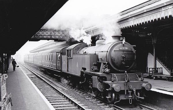 67776 - Thompson LNER/BR Class L1 2-6-4T - built 01/50 by Robert Stephenson & Hawthorn Ltd. - 12/62 withdrawn from 34F Grantham, where seen 05/57.