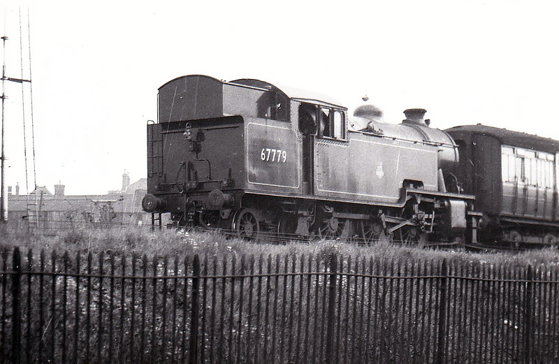 67779 - Thompson LNER/BR Class L1 2-6-4T - built 02/50 by Robert Stephenson & Hawthorn Ltd., Works No.7513 - 12/62 withdrawn from 40E Colwick.