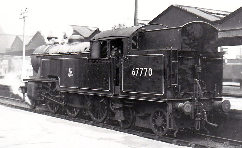 67770 - Thompson LNER/BR Class L1 2-6-4T - built 11/49 by Robert Stephenson & Hawthorn Ltd, Works No.7504 - 12/62 withdrawn from 40E Colwick.
