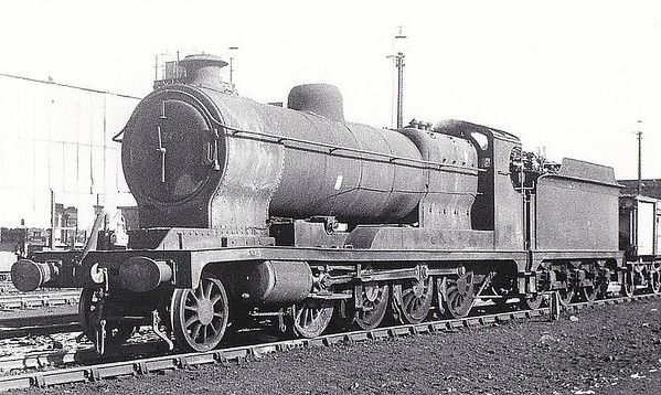 63696 - Robinson GCR Class O4/8 2-8-0 - built 05/18 by Robert Stephenson & Hawthorn Ltd. as ROD No.1678 - 02/24 to LNER No.6323, 12/46 to LNER No.3696, 03/49 to BR No.63696 - 04/59 withdrawn from 36C Frodingham - seen here at Walton.