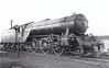 60901 - Gresley LNER Class V2 2-6-2 - built 03/40 by Darlington Works as LNER No.4872 - 11/46 to LNER No.901, 12/49 to BR No.60901 - 06/65 withdrawn from 52A Gateshead - seen here at Haymarket.